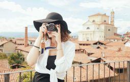 Frau als Fotograf